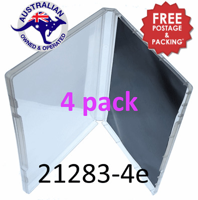 4 Super Clear Magnetic Die Storage Poly Cases Free Post