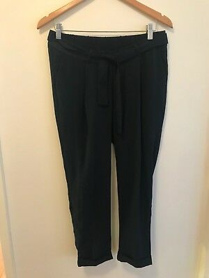 ASOS maternity pants size 10 navy new with tags