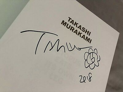 takashi murakami signed book X Off White Gagosian Event
