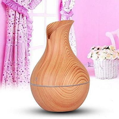 Essential Oil Diffuser, Xisheep 130ml Wood Grain Aromatherapy Diffuser Portable