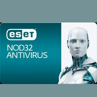 Eset Nod32 Antivirus 2018  (1PC/ 3Year)