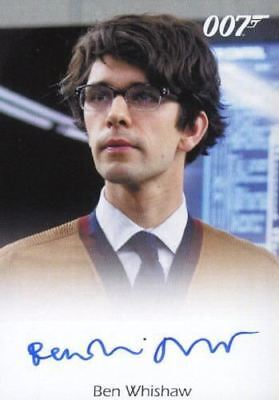 James Bond Classics 2016 Ben Whishaw Autograph Card