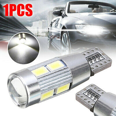 T10 194 W5W 5630 10LED Canbus Error Free Car Auto Side Wedge Light Bulb White