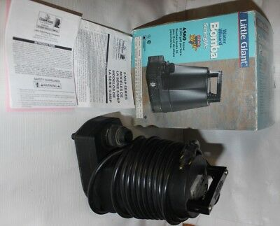 Little Giant Submersible Pump Water Wizard 1200 Gallons/Hr 5-MSP
