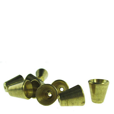 2 x Standard Slip-In Brass Cone Piece - Small Free Shipping Bong Waterpipe