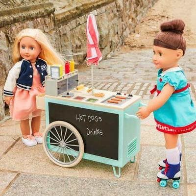 Our Generation – Retro Food Cart And Accessories