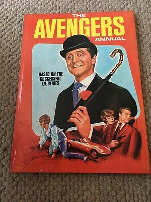 The Avengers Annual 1968 UNCLIPPED
