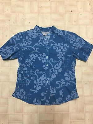 Hawaiian Airlines Flight Attendant Blouse