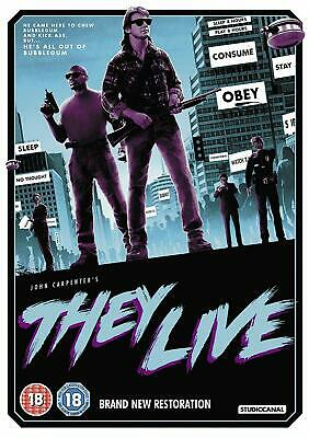 They Live [2018] (DVD) Roddy Piper, Keith David, Meg Foster