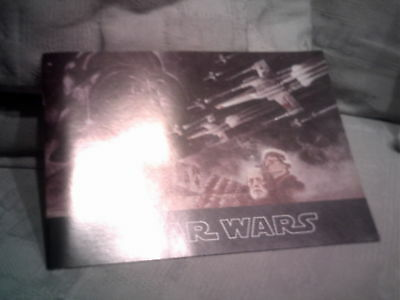 1977 STAR WARS SOUVENIR PROGRAM 1st Print MINT new old stock movie theater book