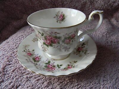 Royal Albert ' Lavender Rose ' Teacup And Saucer