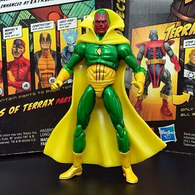 """Marvel Universe The Avengers Vision 3.75"""" Loose Action Figure"""