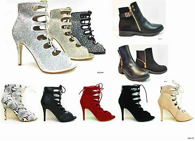 New Womens Ladies High Heel Mary Jane Ankle Strap Court Shoes Size 3-8 >>