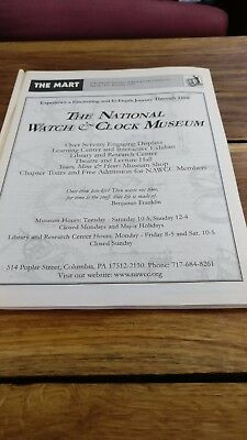 The Mart of the National Association of Watch & Clock Collectors Issue 291 1999