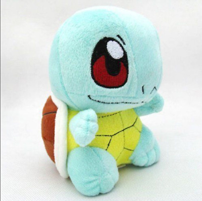 16cm Pokemon Squirtle Q cute soft plush doll toy Free shipping gift