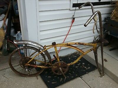 Schwinn Stingray Krate Lemon Peeler Rat Rod Bike