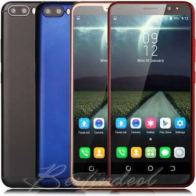 """Cheap 6.0"""" Unlocked Smartphone For AT&T TMobile Straight Talk Android Cell Phone"""