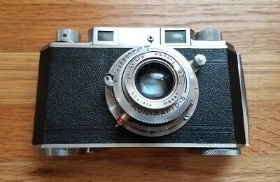 Konica I 1950 35mm Rangefinder Camera Made In Occupied Japan 1:2.8 Lens