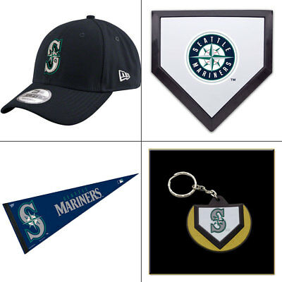 Seattle Mariners Licenced MLB New Era 9FORTY Adjustable Cap PLUS Fan Pack