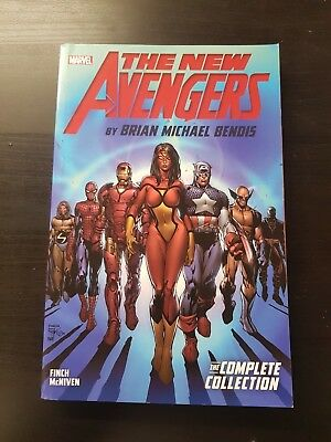 New Avengers By Bendis Complete Collection Volume 1 9781302903626 A9