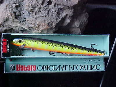 """Rapala Original Floating Floater F18-YP Yellow Perch 7/"""" 11//16oz 180 mm Lure"""
