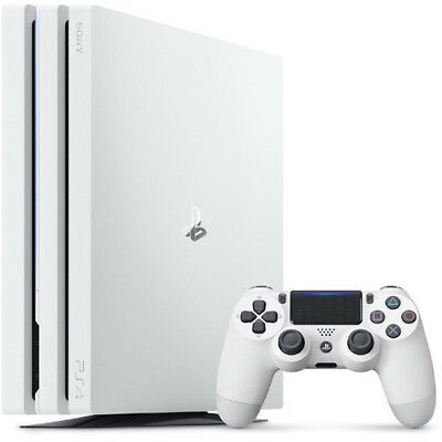 NEW Sony PlayStation(R)4 PS4 Pro Game Console Glacier White HDD 1TB from Japan