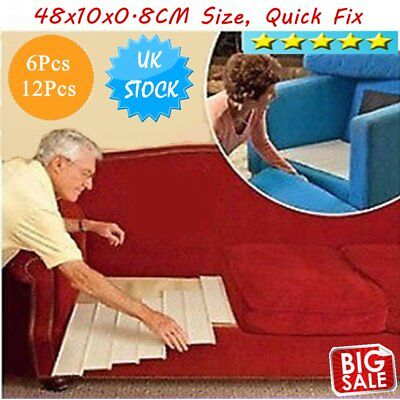 6/12Pc Furniture Savers Save Sagging Sofa Chair Fix Couch Cushion Support#OZZ