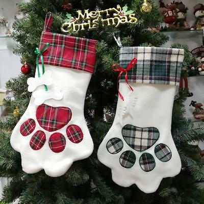 Luxury Christmas Stockings Uk.Luxury Christmas Stocking Luxury Embroidered Dog Cat Paw