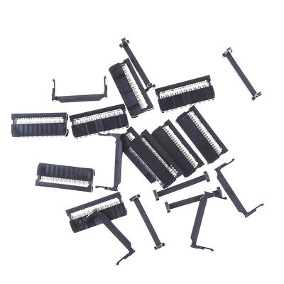 10PCS IDC 20 PIN Female Header  FC-20 2.54 mm pitch Socket Connector  RA