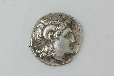 Greek Kingdom of Thrace Lysimachus AR Drachm. Alexandria Troas 297 BC
