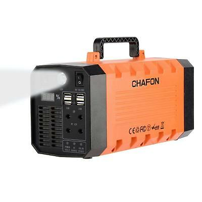 Chafon 346WH Portable Battery Backup Generator Rechargeable Power Invertor 110V