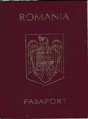 Romania, 2001, Vintage Expired Passport - many visas and stamps