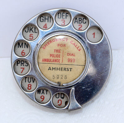 Early GPO No. 12 telephone dial fully working