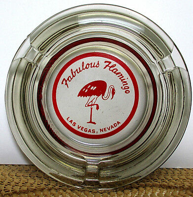 Vintage - Fabulous Flamingo Ashtray - Las Vegas Nevada