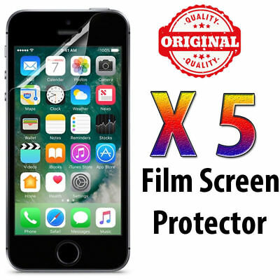 5X Clear & Matte Screen Protector Film For Apple iPhone 6,6S,7,8Plus, XS F&FREE