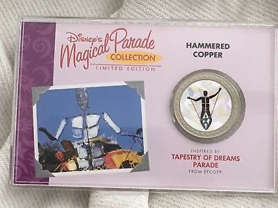 Disney's Magical Parade, Hammered Copper, Limited Edition coin 0274/1000