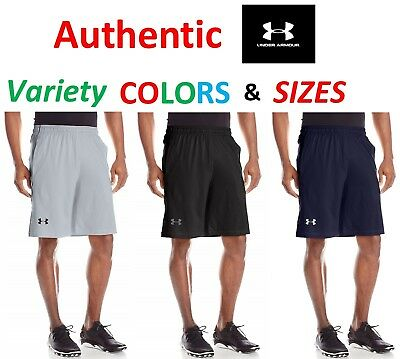 "Under Armour Men HeatGear Anti-Odor UA Raid Printed 10/"" Loose Shorts 1253528-300"