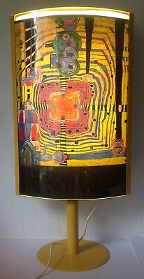 Friedensreich Hundertwasser Lampe, Stehlampe. 1993, CLOSE UP OF INFINITY