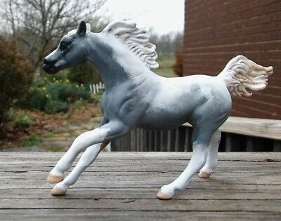 Custom Breyer Horse CM SM Stablemate G4 Cantering Arabian Endurance Pinto Paint
