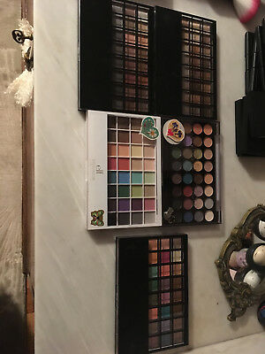 lot 5 palettes maquillage yeux elf