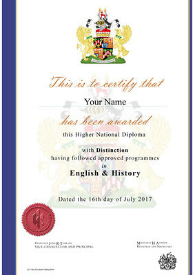 Novelty Diploma Certificates Unique Personalised Anniversary Birthday Gift Fake