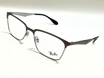f16279a5ed2 New Authentic RAY-BAN RX6344 2862 Brushed Brown 56 17 145 Rx Eyeglasses