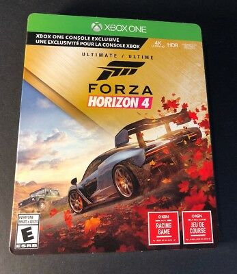Forza Horizon 4  ULTIMATE Edition [ STEEBLOOK Package ]  (XBOX ONE) NEW