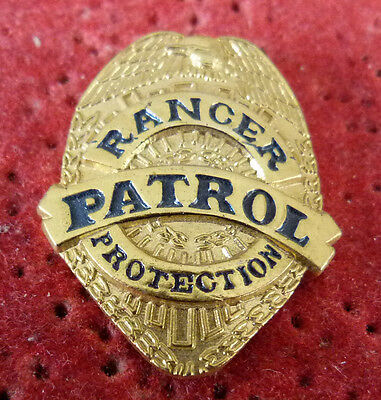 Pin's Police Usa Ranger Patrol Protection