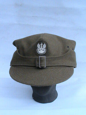POLAND POLISH OLD MILITARY CAP ROGATYWKA- 30's- HUGE SIZE - RARE !