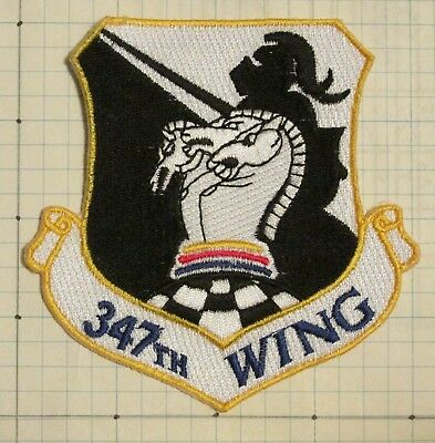 USAF Air Force patch - 347th Wing, type 3,