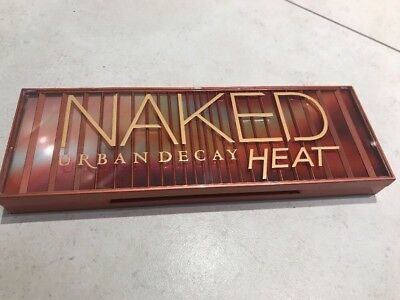 palette maquillage urban decay naked heat tbe