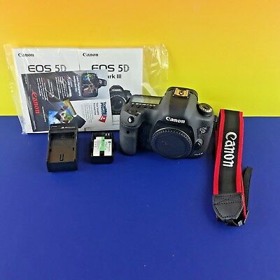 Canon Model EOS 5D Mark III 22.3MP Digital SLR Camera w/ Accessories #95fVE3