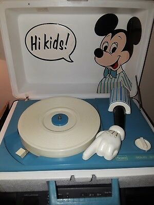 Mickey Mouse Turntable