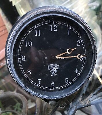 Vintage Smiths Car Clock Removed From A 20Hp Rolls Royce Dashboard